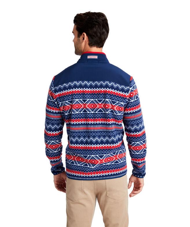 Fair Isle Fleece Shep Shirt