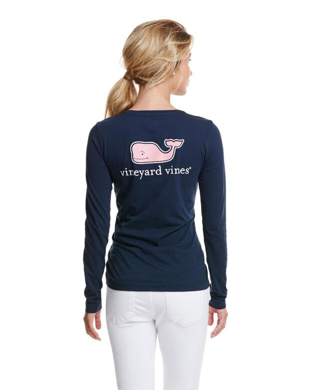 Women's Tshirt: Buy Long-Sleeve Logo Tees for Womens   Vineyard Vines