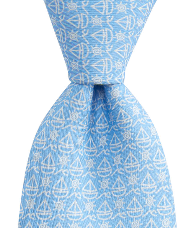 Boys Simple Sail Tie