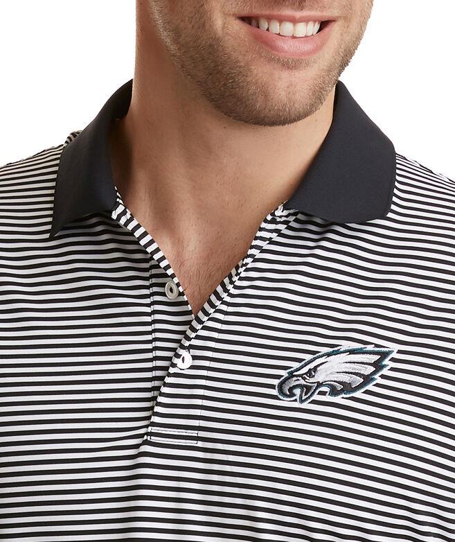 Philadelphia Eagles Porter Stripe Polo
