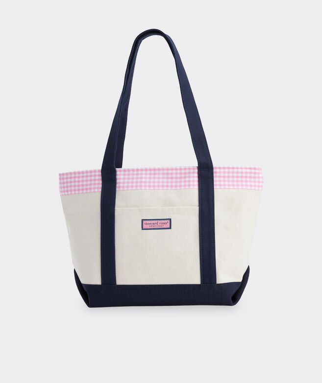 Palm Beach Gingham Classic Tote
