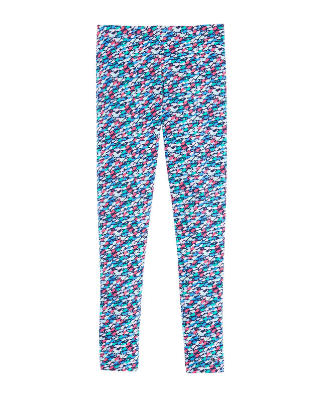 Girls Swimming Whales All Day Leggings