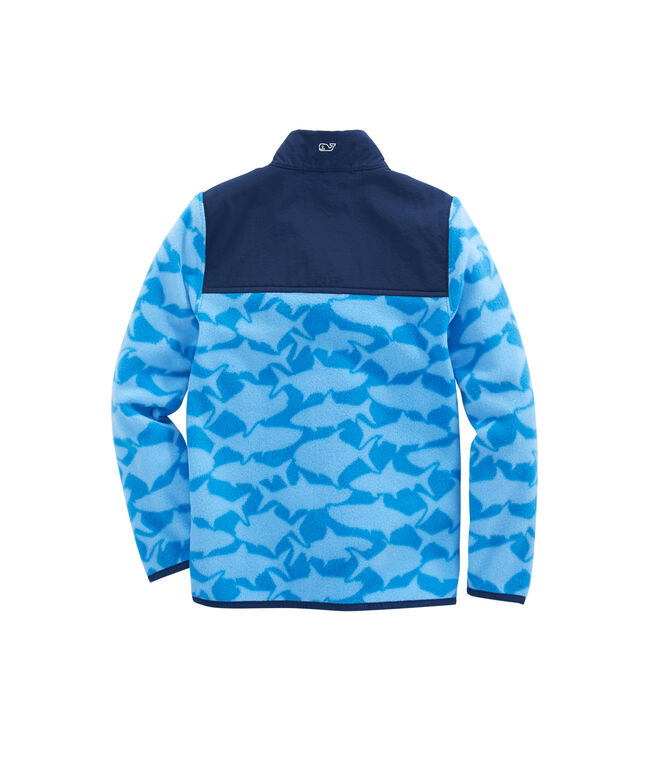 Boys Printed Fleece Shep Shirt