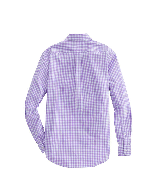 Mens Carleton Gingham Classic Stretch Murray Shirt