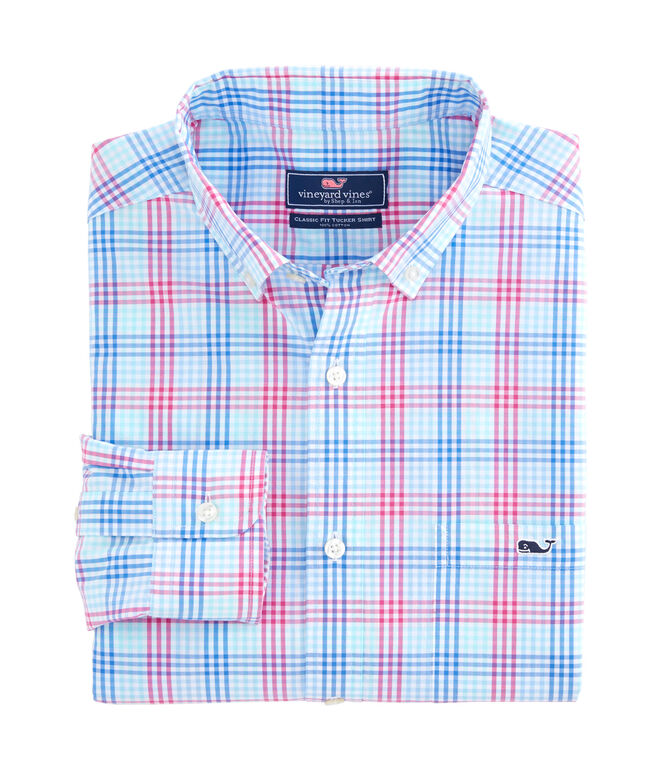 Lyndale Plaid Classic Tucker Shirt