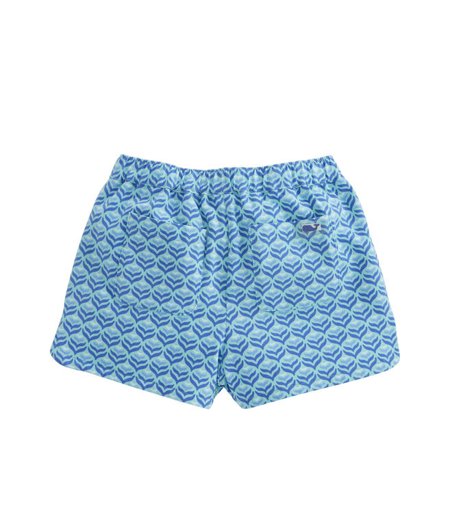 Girls Diamond Whaletail Pull-On Shorts