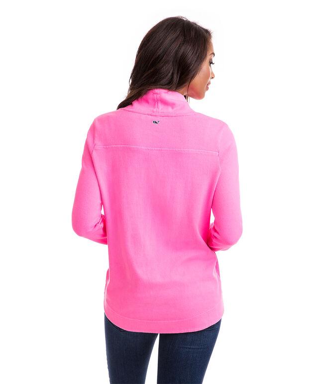 Garment Dyed Funnel Neck Shep Shirt