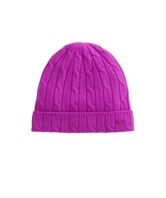 Cashmere Coral Lane Knit Hat