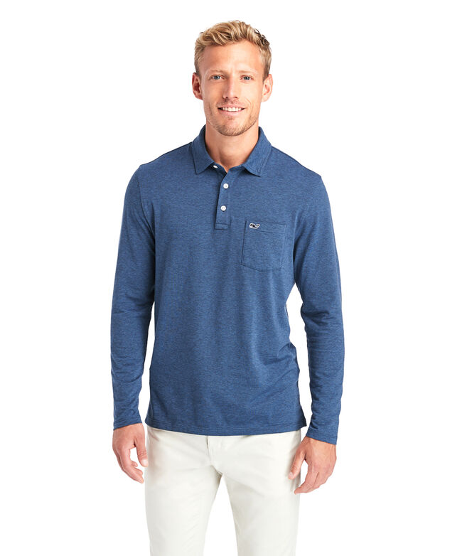 Long-Sleeve Edgartown Polo