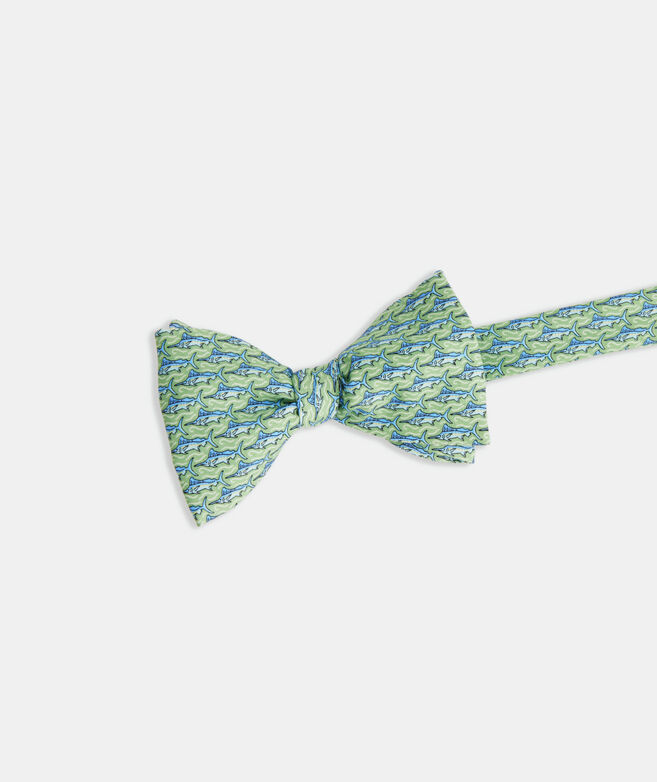 Marlins Printed Bow Tie