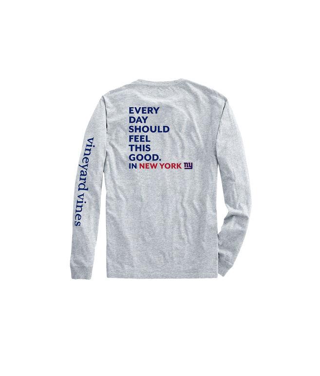 Adult Giants Long-Sleeve EDSFTG T-Shirt