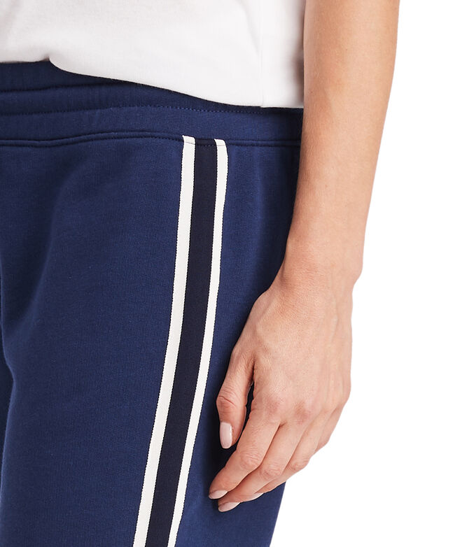 Side Stripe Knit Joggers
