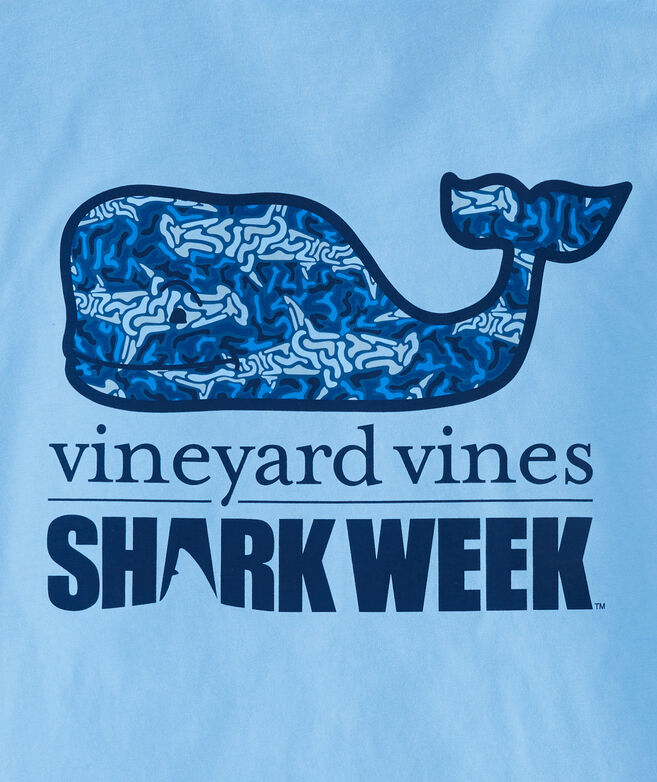 Shark Week Shark Camo Whale Fill Pocket T-Shirt