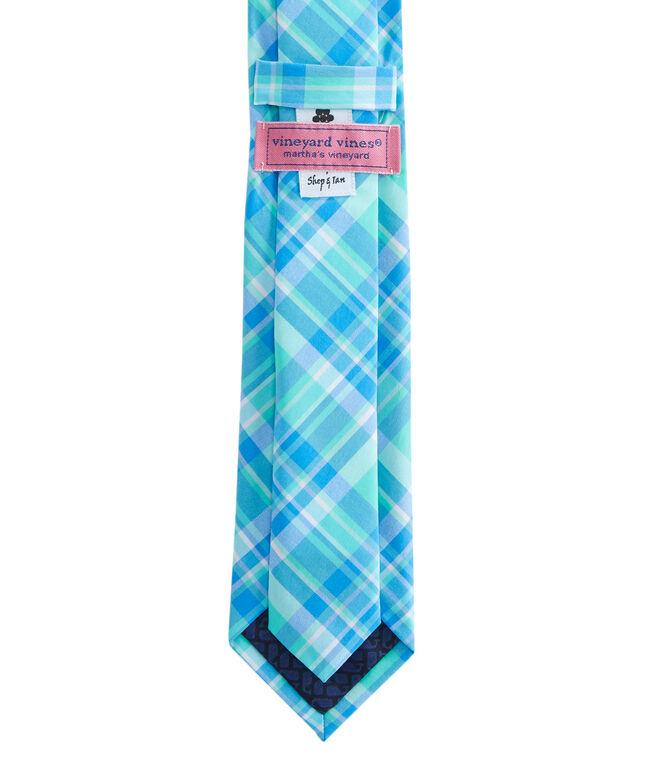 Sandspar Plaid Skinny Kennedy Tie