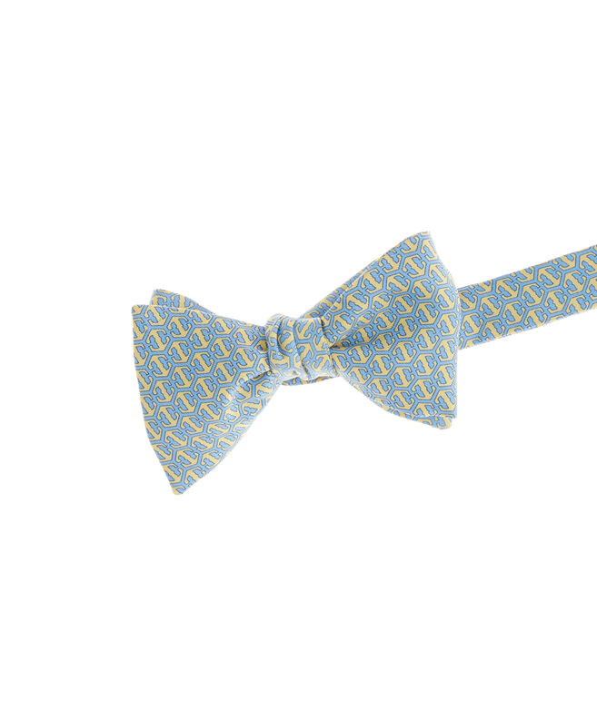 Honeycomb Whale Bow Tie