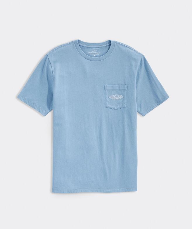 Surf Logo Fill Short-Sleeve Pocket Tee
