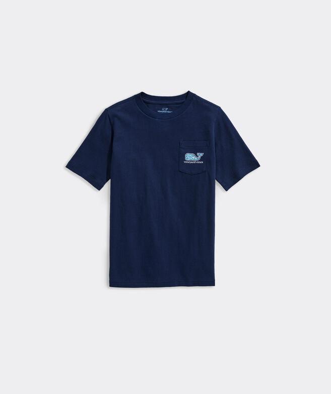 Boys' Football Gear Whale Fill Short-Sleeve Pocket Tee