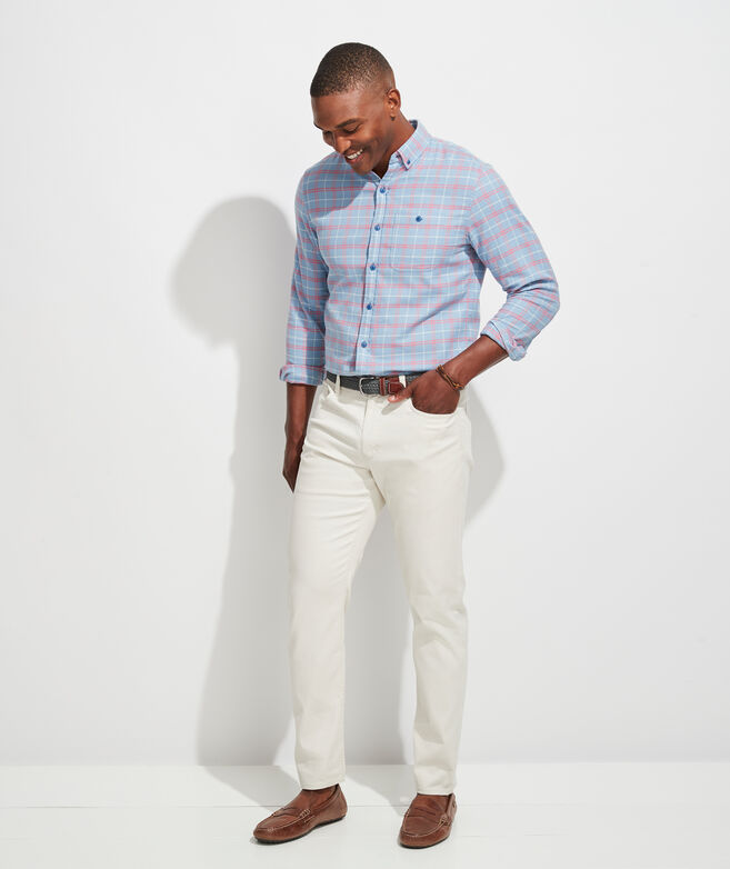 Classic Fit Canoe Murray Button-Down Shirt