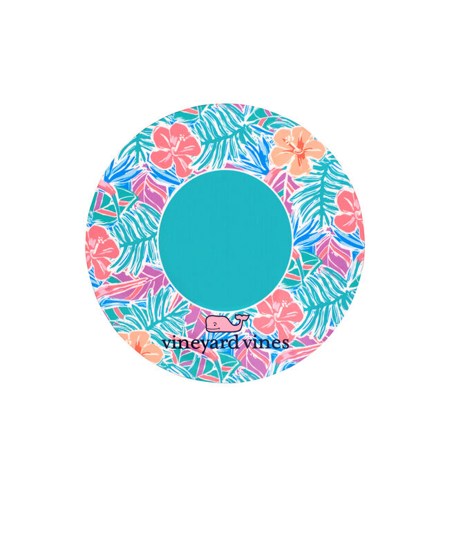 Monogrammed Gulf Tropical Chappy Coasters