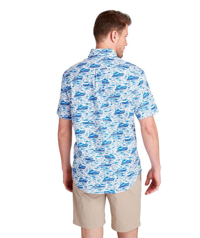 Classic Fit Sportfisher Short-Sleeve Murray Shirt