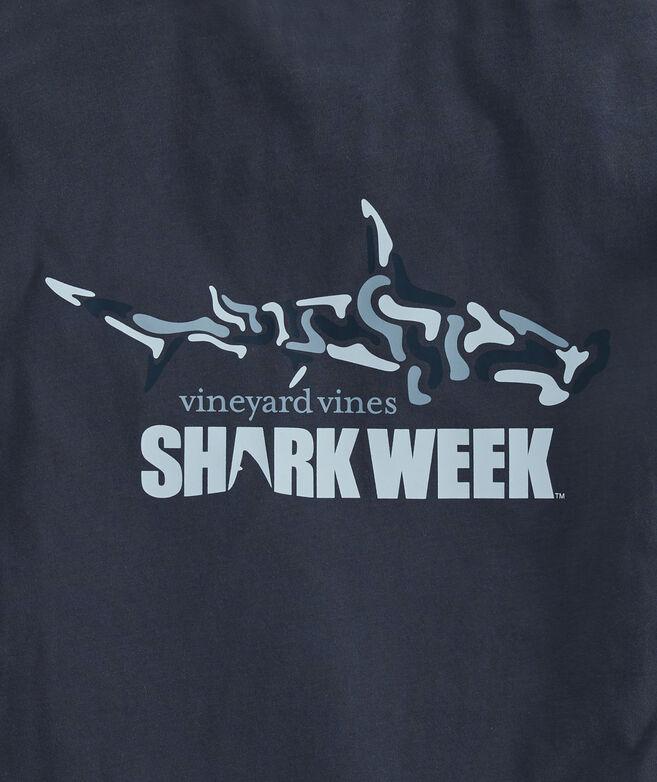 Big & Tall Shark Week Camo Shark Pocket T-Shirt