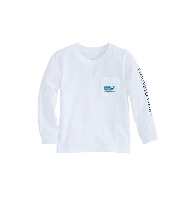 Baby Tropical Turtle Whale Fill Pocket Tee