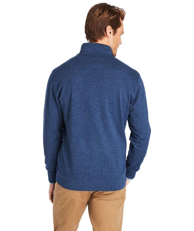 Herringbone 1/2-Zip Pullover