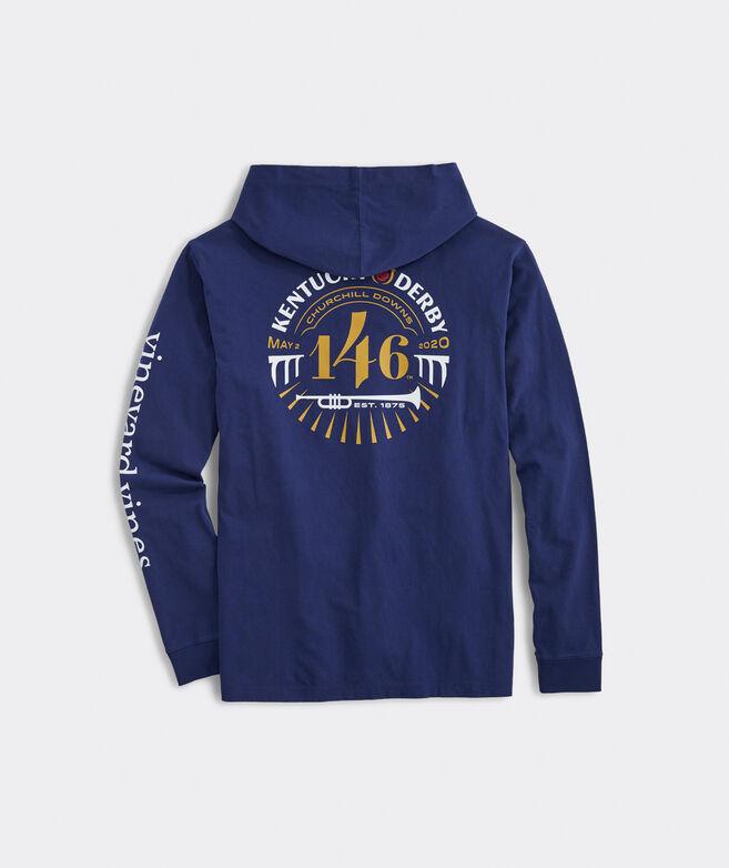 Kentucky Derby 146th Logo Hoodie Long-Sleeve Pocket Tee