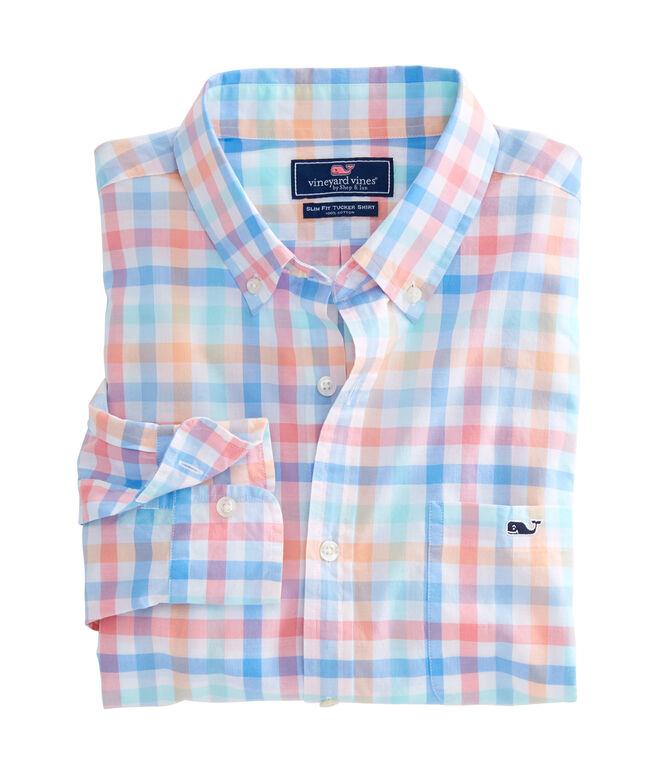 Boway Check Slim Tucker Shirt