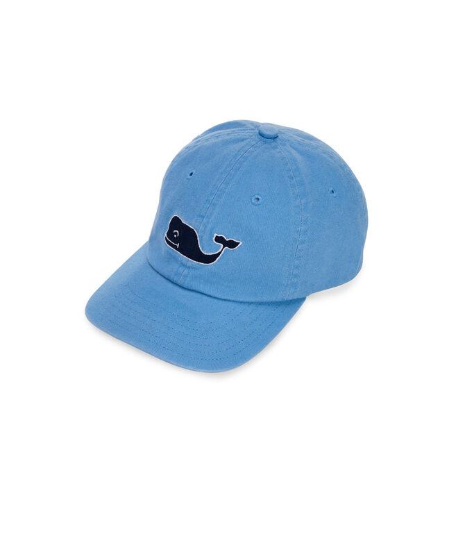 Boys Large Whale Logo Baseball Hat