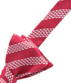 Whale Rep Stripe Bow Tie