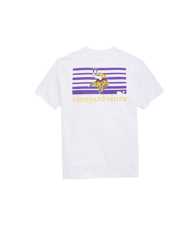 Minnesota Vikings Block Stripe T-Shirt