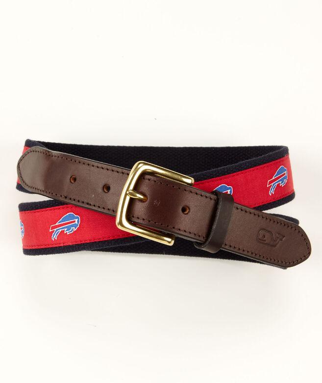 Buffalo Bills Canvas Club Belt