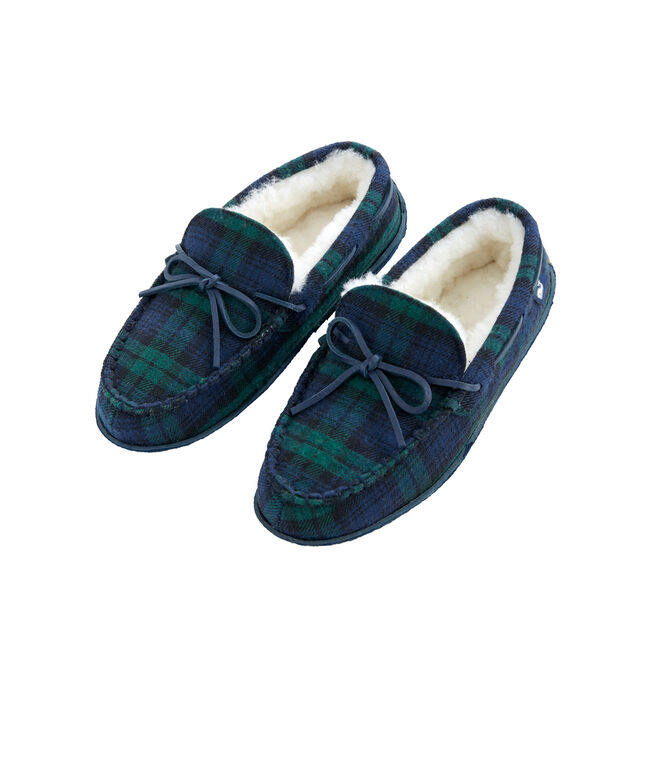 Mens Blackwatch Holiday Slippers