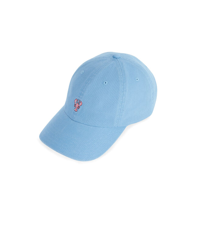 Lobster Icon Twill Baseball Hat