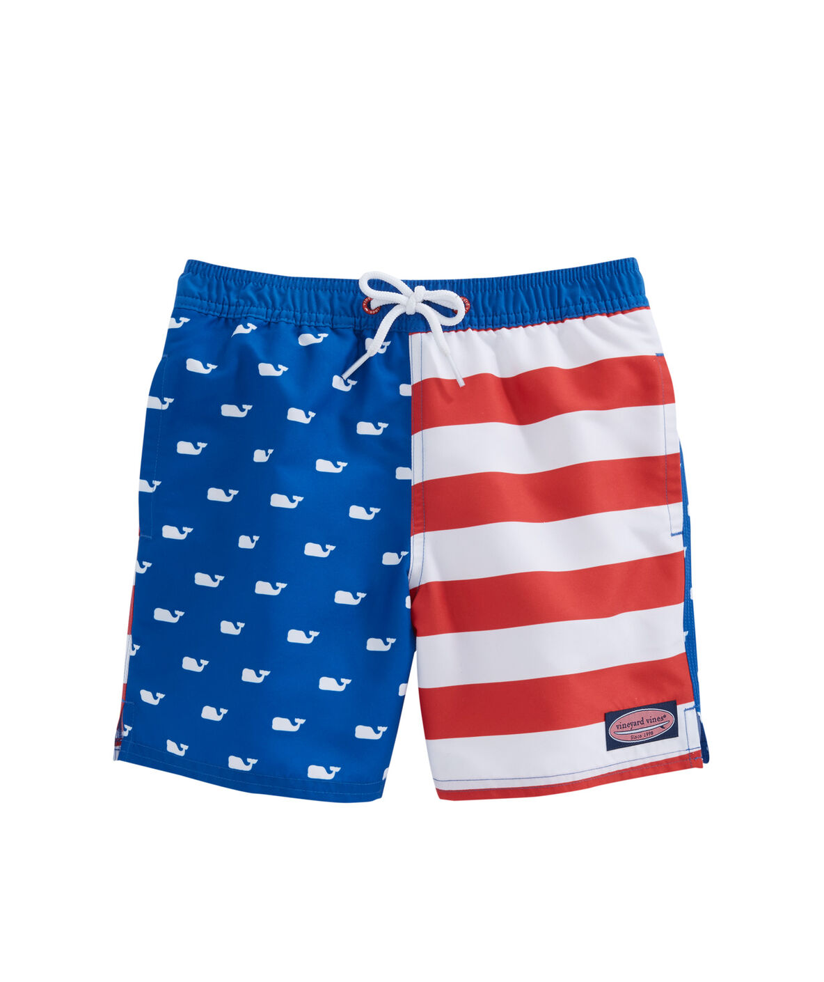 ee6d5ae547 Boys Whale Flag Chappy Trunks. Zoom In