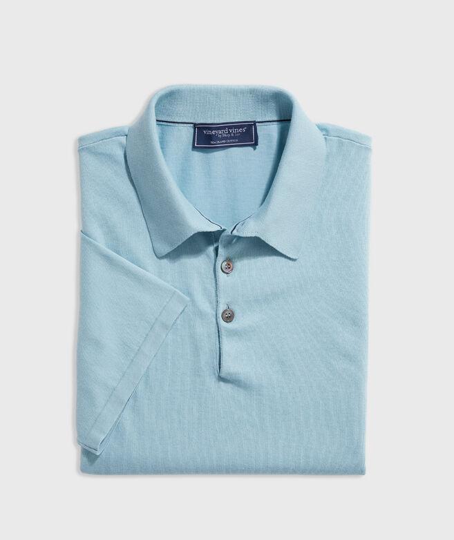 Sea Island Cotton Sweater Polo