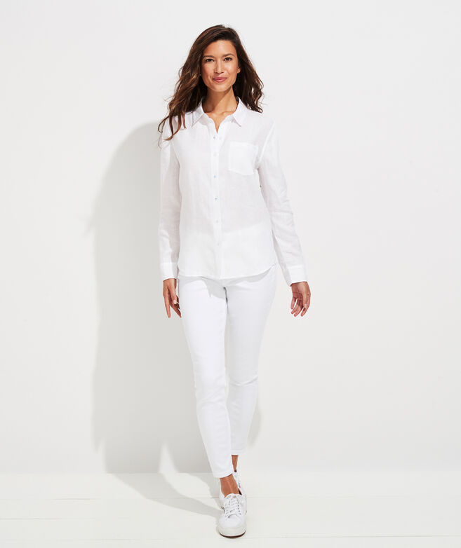 Linen Chilmark Relaxed Button Down