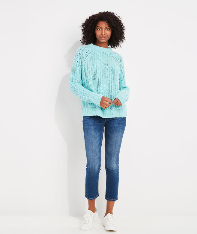 Cozy Fisherman Ribbed Sweater