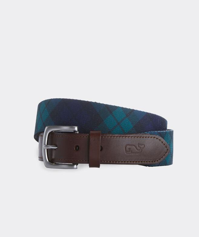 Blackwatch Printed Club Belt