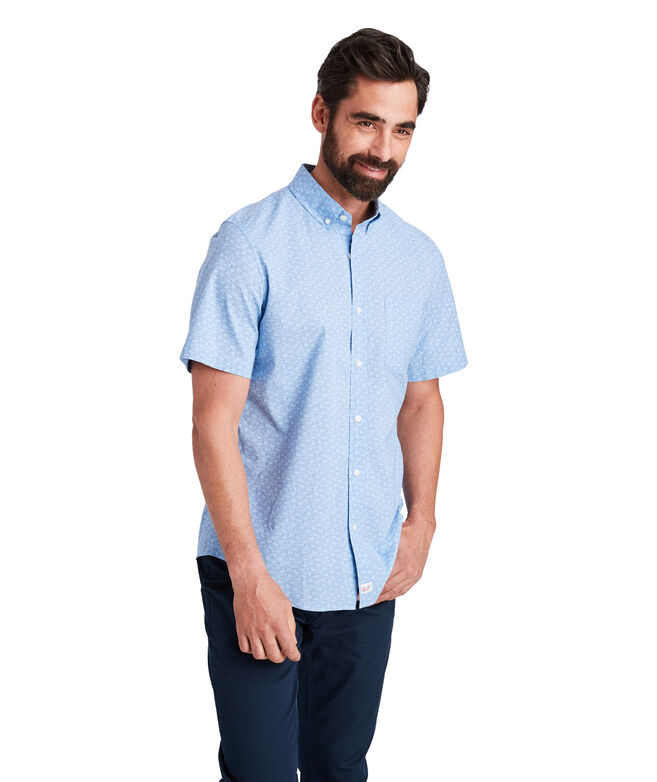 Slim Short-Sleeve Mini Sportfisher Murray Shirt
