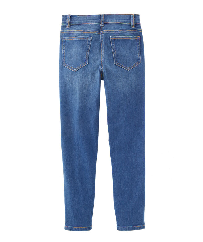 Boys Dark Wash Denim Pants