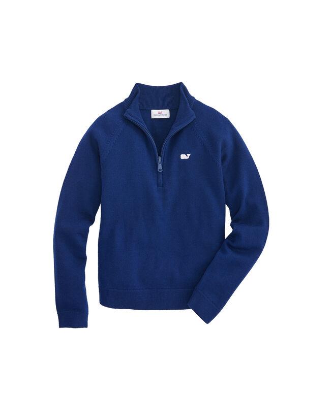Girls 1/2-Zip Sweater