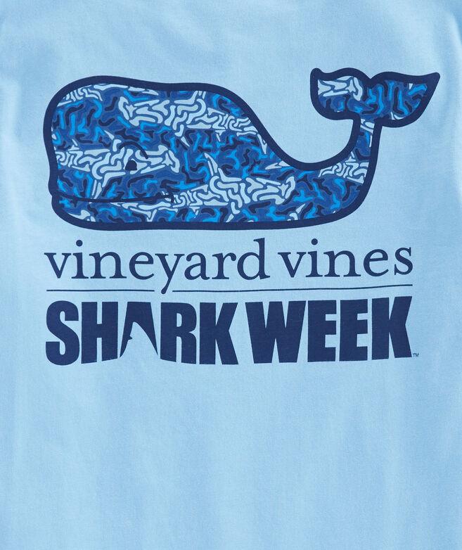 Boys Shark Camo Whale Fill Pocket T-Shirt