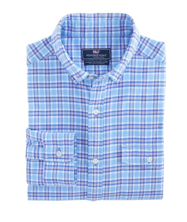 Morgan Way Flannel Classic Crosby Shirt