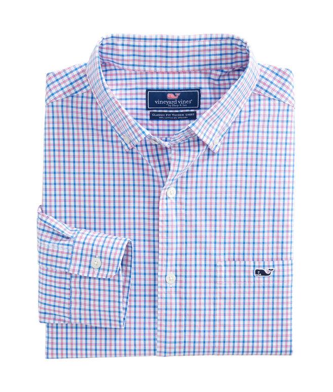 Clark Cove Check Classic Tucker Shirt