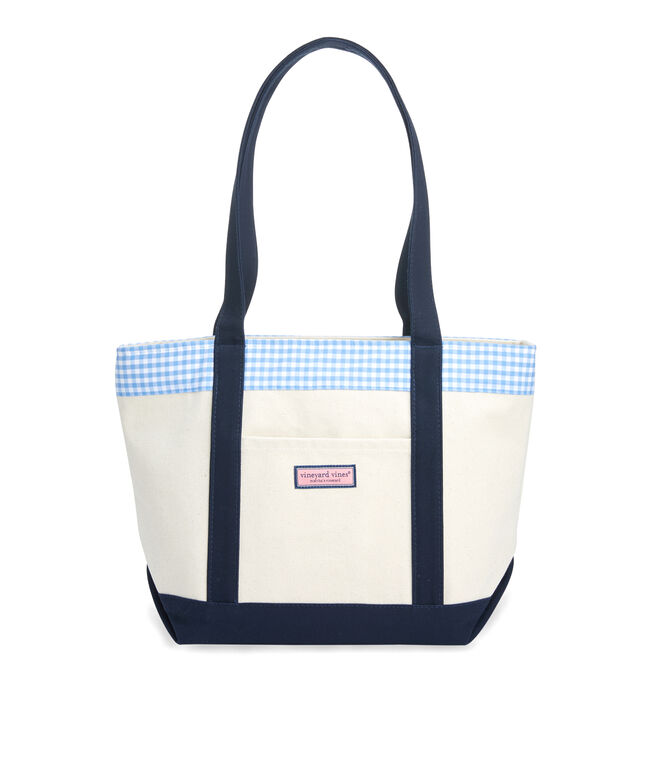 Gingham Classic Tote