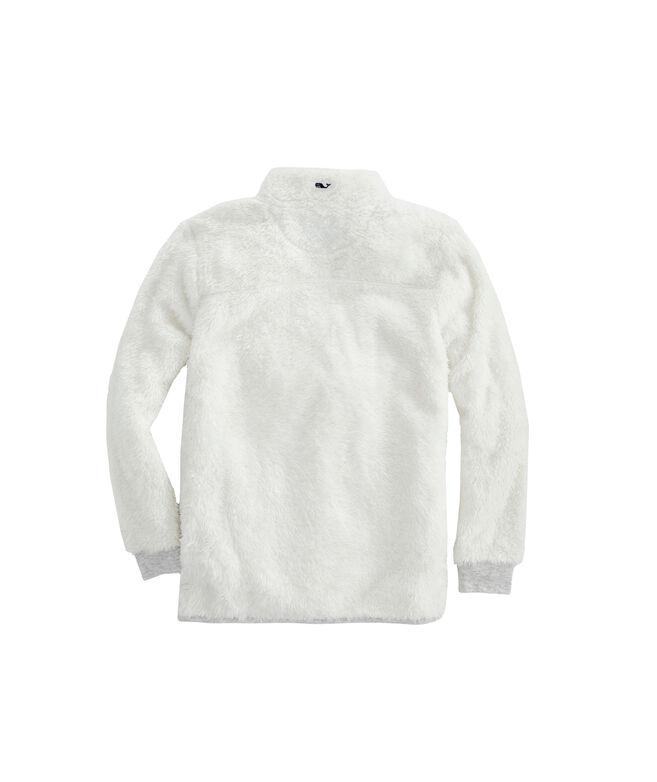 Girls High Loft Super-Soft 1/2-Zip Pullover
