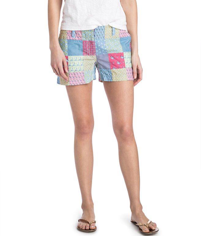 3 1/2 Inch Original Patchwork Every Day Shorts