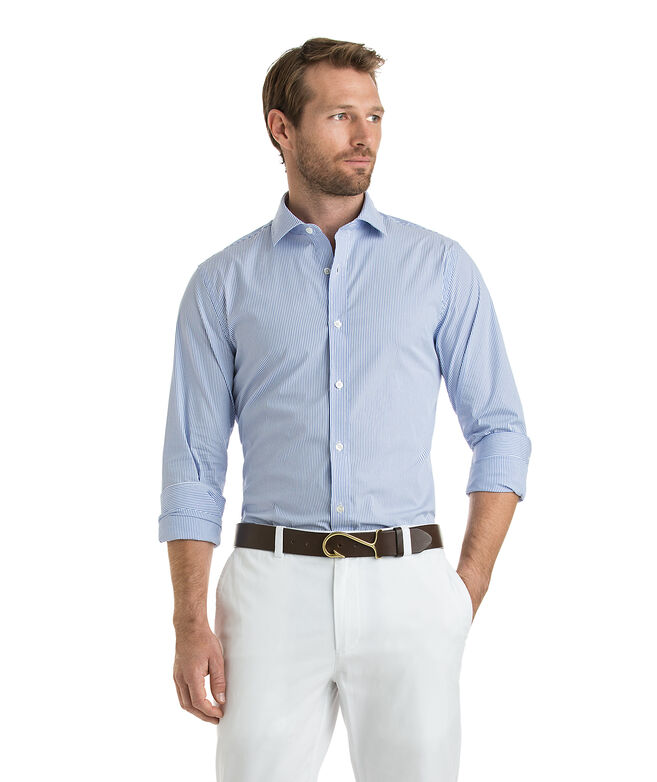 Hetherington Stripe Performance Cooper Shirt